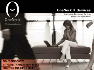 Information Technology Services by OneNeck IT Services