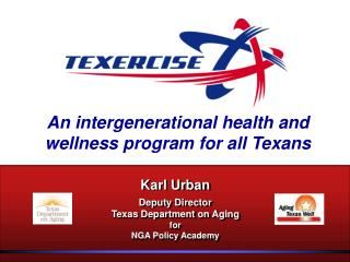 An intergenerational health and wellness program for all Texans