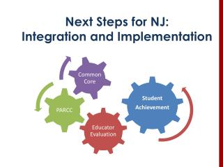 Next Steps for NJ: Integration and Implementation