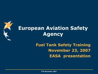European Aviation Safety Agency