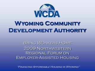Wyoming Community Development Authority