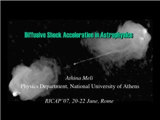 Diffusive Shock Acceleration in Astrophysics