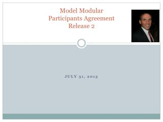 Model  Modular  Participants Agreement Release 2