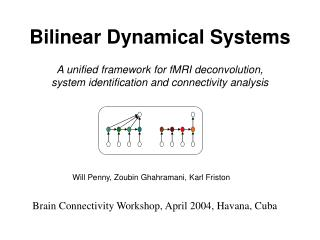 Bilinear Dynamical Systems