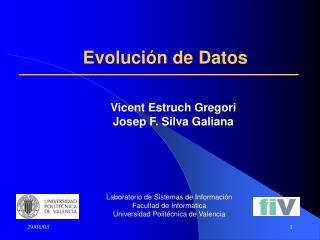 Evolución de Datos