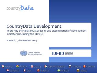 CountryData Development