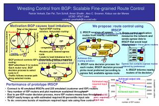 Wresting Control from BGP: Scalable Fine-grained Route Control