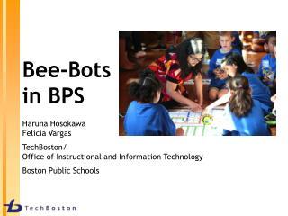 Bee-Bots  in BPS
