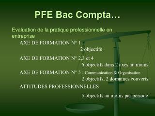 PFE Bac Compta…