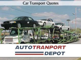 Auto Transport Quotes by ATD