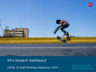 NTU Student Dashboard