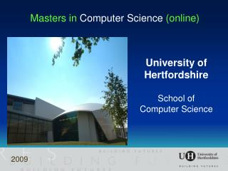 Masters in  Computer Science  (online)