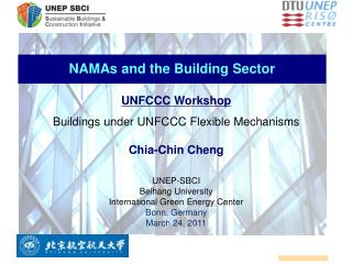 NAMAs and the Building Sector