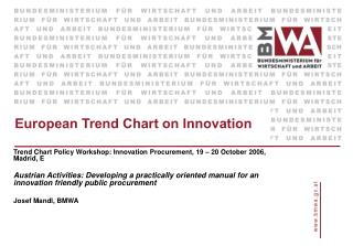 European Trend Chart on Innovation