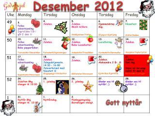 Desember  2012