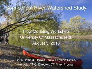 Connecticut River Watershed Study