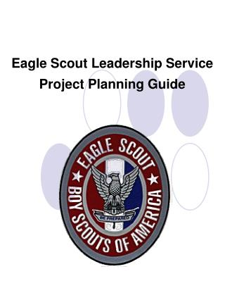 Eagle Scout Leadership Service Project Planning Guide