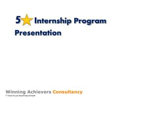 5    I nternship Program Presentation