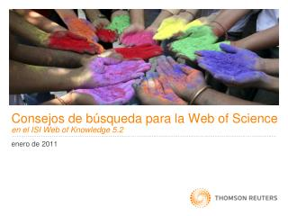 Consejos de búsqueda para la Web of Science en el ISI Web of Knowledge 5.2