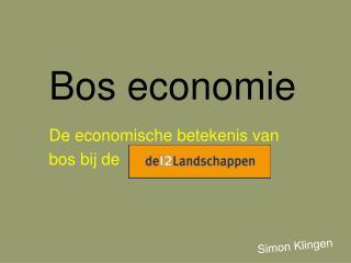 Bos economie