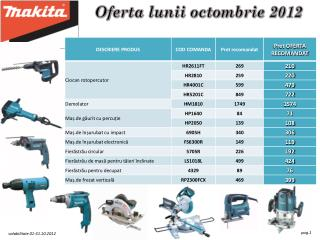 Oferta lunii octo mbrie  2012