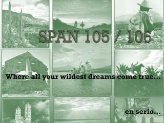 SPAN 105 / 106