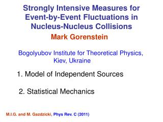Strongly Intensive Measures for  Event-by-Event Fluctuations in  Nucleus-Nucleus Collisions