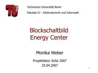 Blockschaltbild Energy Center