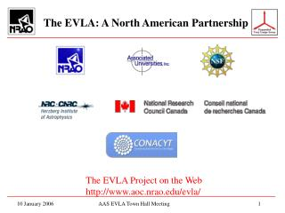 The EVLA: A North American Partnership