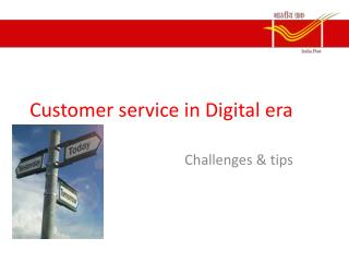 Customer service in Digital era