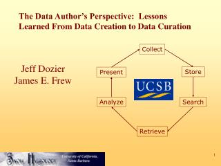 The Data Author's Perspective:  Lessons Learned From Data Creation to Data Curation