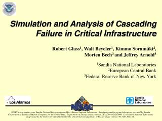 Simulation and Analysis of Cascading Failure in Critical Infrastructure