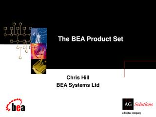 The BEA Product Set
