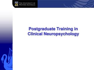 Postgraduate Training in Clinical Neuropsychology