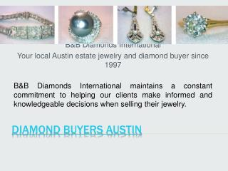 Jewelry Buyers Austin