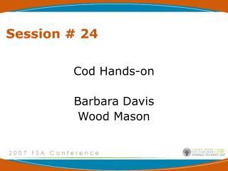 Session # 24