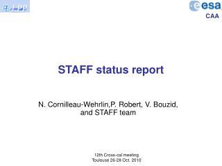 STAFF status report
