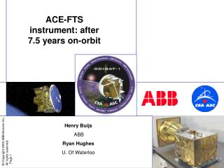 ACE-FTS instrument: after 7.5 years on-orbit