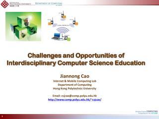 Challenges  and Opportunities of  Interdisciplinary  Computer Science Education