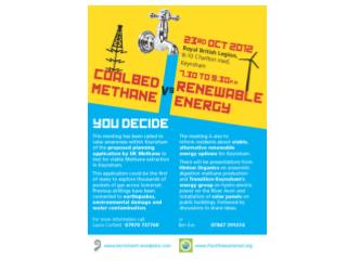 UK Methane The Plan