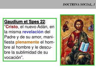 DOCTRINA SOCIAL, 1