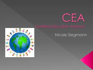 CEA Certified Education Assistant