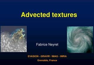 Advected textures