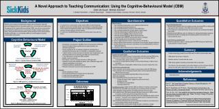 A Novel Approach to Teaching Communication: Using the Cognitive-Behavioural Model (CBM)