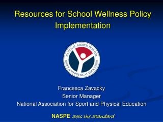 Resources for School Wellness Policy Implementation