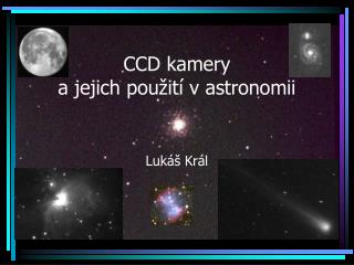 CCD kamery a jejich použití v astronomii
