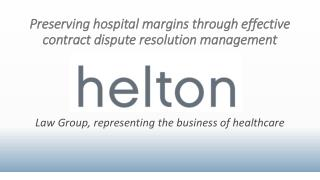 Preserving hospital margins through effective contract dispute resolution management