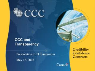 CCC and Transparency