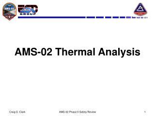 AMS-02 Thermal Analysis