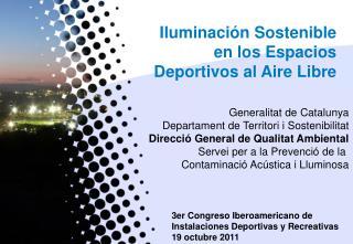 Iluminación Sostenible en los Espacios Deportivos al Aire Libre